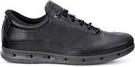 Мужские кроссовки Еcco 02 leather Black-grey, фото 1