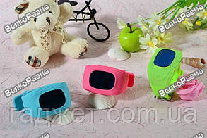 Умные часы, детские Smart часы, Smart Baby Q50 c GPS треккером голубого цвета. , фото 2