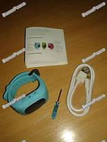 Умные часы, детские Smart часы, Smart Baby Q50 c GPS треккером голубого цвета. , фото 3
