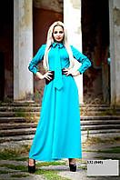 Платье стильное женское батальное 132.1 (040)