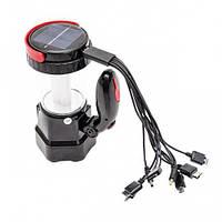 INTERTOOL Фонарь аккумуляторный 1LED 1W + 12 LED INTERTOOL LB-0111