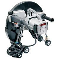 Ручная дисковая пила с подачей воды оснащена роликами диск 400 мм, глубина 160 мм CEDIMA SM-410
