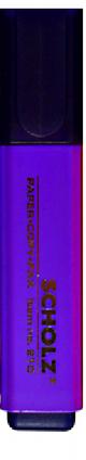 """Маркер текстовый """"SCHOLZ"""" 210 фиолет, фото 2"""