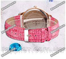Модные роскошные женские часы Gogoey с горным хрусталем розового цвета., фото 2