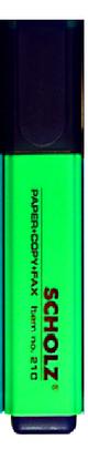 """Маркер текстовый """"SCHOLZ"""" 210 зеленый, фото 2"""