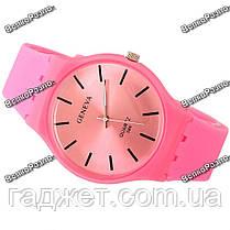 Часы GENEVA розовые, фото 3