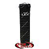 Боксерский мешок Lev 140 см х 33 см, кирза, черный