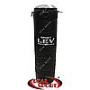 Боксерский мешок Lev 120 см х 33 см, кирза, черный