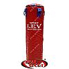 Боксерский мешок Лев 100  см х 30 см, винил, красный