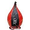 Боксерская груша Lev «Капля»  большая 70 х 40 см, кожа