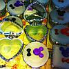 Шкатулки стеклянные с зеркальцем