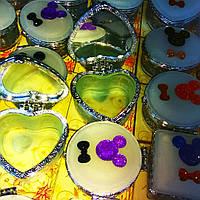 Шкатулки стеклянные с зеркальцем, фото 1