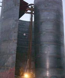 Виготовлення та монтаж вертикальних резервуарів