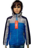 Демисезонная куртка на мальчика 4 -8 лет