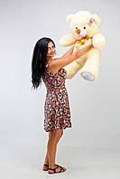 Большой плюшевый мишка, медведь Томми 50см крем