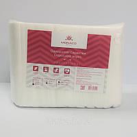 Салфетки, спанлейс, 30см*50см Гладкие (100 шт. сложенные в пластах) ТМ Monaco Style