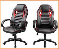 Кресло компьютерное Racer эко-кожа