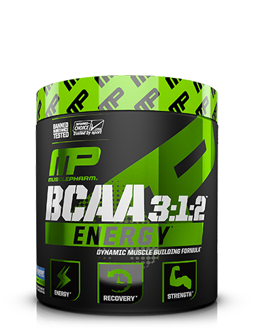 MusclePharm Energy BCAA 3:1:2 Powder 30 serv
