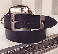 Ремень  очень стильный кожаный, реплика VV-01.019