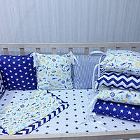 Бортики защитные в детскую кроватку