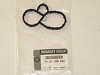 Прокладка корпуса масляного фильтра на Рено Трафик 2.5dCi - 03->06 (135л.с.) Renault (оригинал) 7701048885