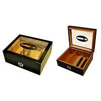 Хьюмидор Сигара для 25 сигар 92024 Angelo Чёрный
