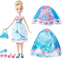 Hasbro Disney Модная  кукла Принцесса Золушка в платье со сменными юбками (В5312/В5314)