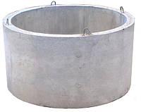 Бетонные евро кольца и крышки для колодца купить