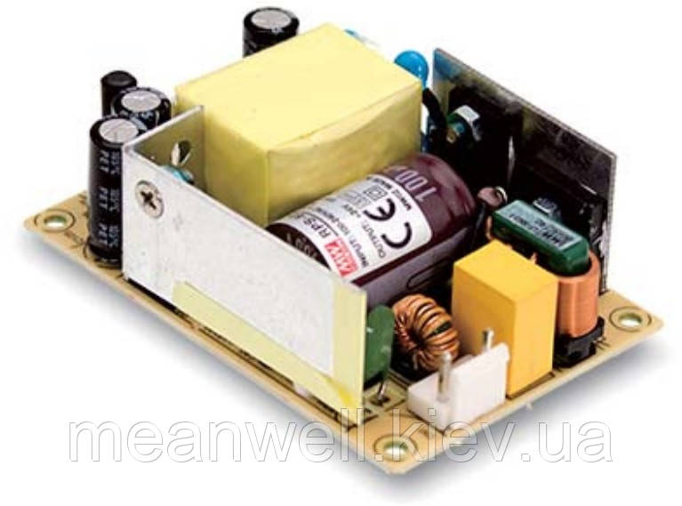 EPS-45S-12 Блок питания Mean Well  Открытого типа 45.6 Вт, 12 В, 3.8 А (AC/DC Преобразователь)