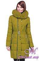 Женская стильная зимняя куртка больших размеров (р. 44-56) арт. Пейтон