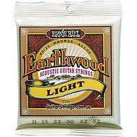 Струны Ernie Ball 2004 EarthwoodBronze Alloy Light 11-52