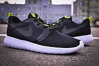 Кроссовки мужские Nike Roshe Run Hyperfuse QS Black