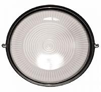 Светильник ЖКХ LEMANSO круг металлический 60W без решетки BL-1301 черный