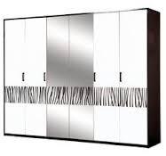 Шкаф 6Д Бася Нова Світ Меблів