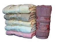 Махровое двухсторонее полотенце для лица  №Л-42