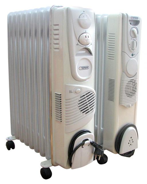 Маслонаполненные обогреватели Термия с вентилятором
