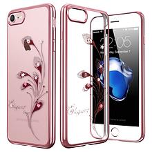 Чехол накладка силиконовый Beckberg Breathe для Apple iPhone 5 5S SE Elegant