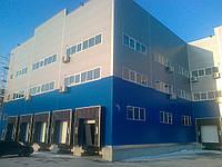 Промышленное строительство складов, логистических центров