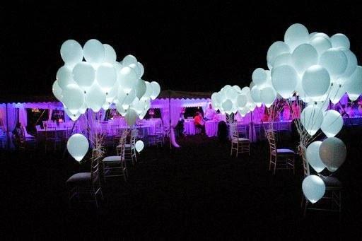 светящиеся воздушные шары с диодами
