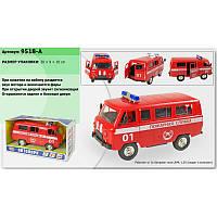 Машина на батарейках PLAY SMART Пожарная служба 9518A