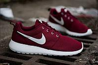 Кроссовки мужские Nike Roshe Run Vinous White