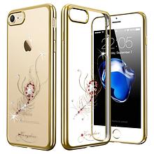 Чехол накладка силиконовый Beckberg Breathe для Apple iPhone 5 5S SE Firebird