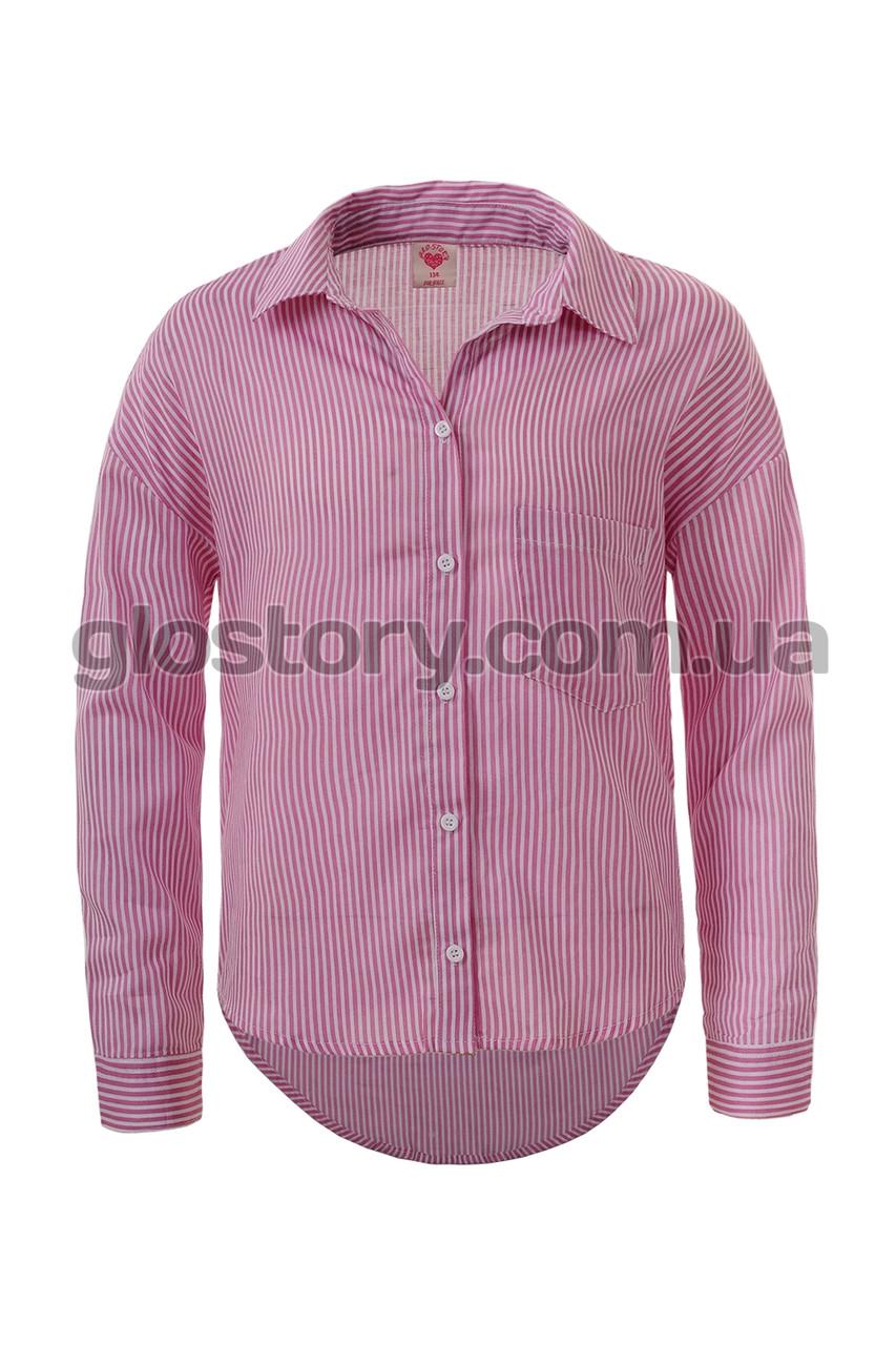 Рубашка для девочки Glo-Story GCS-4144 (134-164)