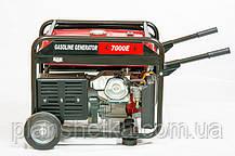 Генератор Weima WM7000E (7 кВт) 1 фаза, бензин, фото 3