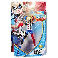 Коллекционная фигурка DC Comics Super Hero Girls  Harley Quinn фигурка 15 см на шарнирах, фото 1