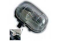 Светильник ЖКХ LEMANSO овал металлический решетка 60W черный BL-1413 + винт черный