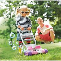 Fisher-Price каталка толкатель газонокосилка с мыльными пузырями розовая