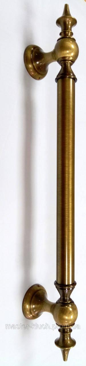 Дверная ручка скоба Pasini MANILA 600мм бронза