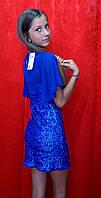 Платье нарядное для девочки в паетках