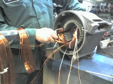 Ремонт электродвигателей марок : АИР, 4АМ, 5AM, MTM, MTF и других мощностью от 1 до 100 кВт. , фото 2